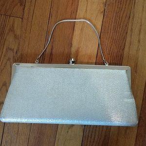 Vintage sparkle clutch